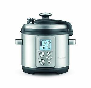 Breville The Fast Slow Pro Multi Cooker, Brushed Stainless Steel BPR700BSS FAST
