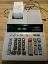 Sharp El-1630S Electronic Printing Calculator tested works great