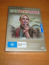 EAT PRAY LOVE - JULIA ROBERTS - DVD [ REGION 4 ] ~ * BRAND NEW *