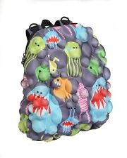 New* MadPax 3D Backpack for Children - Monsters On Bubbles