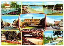 Nordhorn Postcard Stradtpark Neues Wehr Vechtesee Germany Vechtepartie 1978