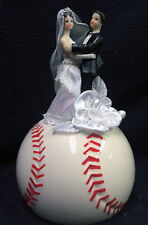Baseball Softball Lover Groom Top Wedding Cake Topper Centerpiece Cupcake accent
