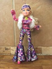 Bratz Costume Bash Chloe Doll Groovy 70's Chick Articulated Long Legs