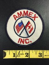 AMMEX INC. UNITED STATES CANADA FLAGS AS-IS CONDITION ADVERTISING BIN:B