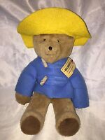 "** Vintage Paddington Bear Eden Toys 1975 From Darkest Peru 15"" London England *"