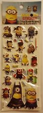 Puffy Minions Stickers Anime Cartoon