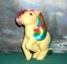 My Little G1 *SKYDANCER* Lovely RAINBOW Pegasus GLITTERY Bird Pony!