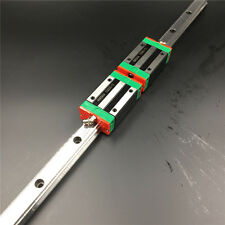 20mm Linear Rail Guide HGR20 L-1000mm & 2pc HGH20CA Rail Block Replace for HIWIN