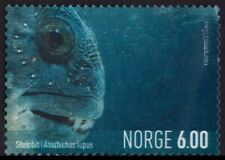 /NORWAY 2004 Anarhinchas lupus Wolffish 6Kr 1v USED @BM178