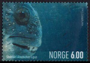 /NORWAY 2004 Anarhinchas lupus Wolffish 6Kr 1v USED @BM178