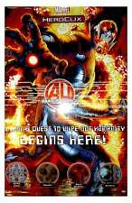 NUOVO Marvel Heroclix AGE OF ULTRON OP KIT ULTRON POSTER