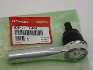 Genuine Honda End Tie Rod 53540-S0X-A02