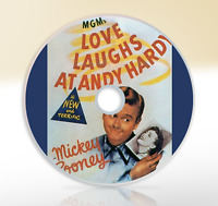 Love Laughs At Andy Hardy (1944) DVD Classic Comedy Drama Film Mickey Rooney