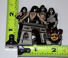 KISS Band Hard Rock Café Pin Badge Paris Arc de Triomphe Love Gun Alive 2 LE 200