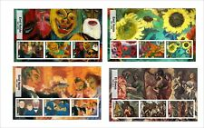 2017 MURILLO COROT EL GRECO NOLDE 12  ART PAINTINGS  MNH UNPERFORATED