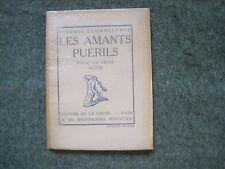Fernand CROMMELYNCK: les amants puérils. La Sirène