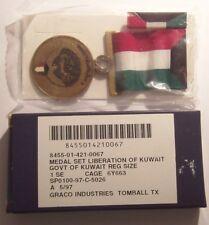 Liberation of KuwaitMedal Set in Box U.S. Made
