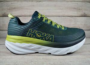 Hoka One One Bondi 6 Running Shoes Green Men's Size 15