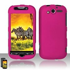 Hard Rubberized Case for HTC myTouch 4G - Rose Pink