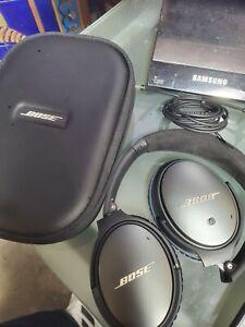 Bose QC25 QuietComfort 25 Noise Cancelling Headphones QC 25 black