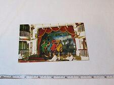 Golden Horseshoe Show Frontierland Disneyland card Rare Postcard Magic Kingdom