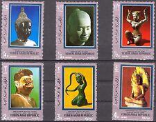 Yemen 1970 Famous Art of Siam set of 6 MNH**Mi.:1052/7 7,00Eur