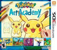 Pokemon Art Academy - Nintendo 3DS Game