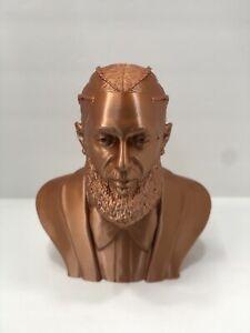 Nipsey Hussle 3D Printed Bust Sculpture