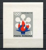 39042) Rumania 1971 MNH Olympic Games Sapporo'72 S/S