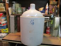 Red Wing 5 Gallon Jug Union StoneWare Co RedWing MN SMALL Wing CROCK ANTIQUE