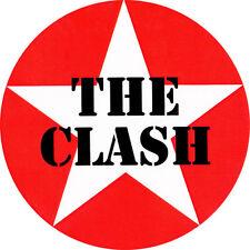 CHAPA/BADGE THE CLASH Estrella . pin button joe strummer damned mick jones punk