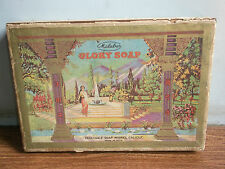 Rare old vintage malabar brand GLORY SOAP advertising wooden soap box of 60's...