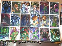 Batman Forever Metal Set 100 Cards by Fleer 1995 includes Checklist DC! + A1!