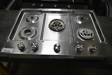 """KitchenAid KCGS950ESS 30"""" Stainless Gas Cooktop 5 Burners #23110"""
