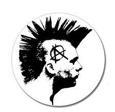 ANARCHIST Punk Button Pin NEU 2,5cm Punkrock Oi! Skinhead Punx Rebell Anarchie