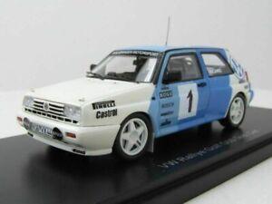 VW GOLF 2 G60 #1 RABBIT RALLYE TEST CAR 1989 RECARO NEO 49548 1/43 VOLKSWAGEN