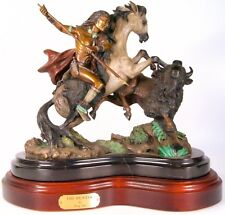 The Hunter - Solid Bronze Sculpture by Barry Stein