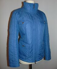 PETER HAHN GERMAN QUALITY QUILTED SPRING LIGHT JACKET, D 38 UK 12, IMMACULATE