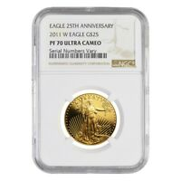 2011 W 1/2 oz $25 Proof Gold American Eagle NGC PF 70 UCAM