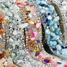 Bling Crystal Rhinestone Ribbon Wedding Dress Crafts Sewing Decor Trims NEWLY