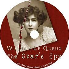 The Czar's Spy, William Le Queux Audiobook Unabridged English Fiction 1 MP3 CD