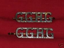 GOVERNOR GENERALS HORSE GUARD Shoulder Title Badges