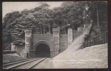 Postcard STAFFORD ENGLAND  L.& N.W. Shugborough Railroad Tunnel view 1910's?