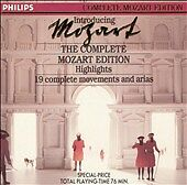 Introducing the Complete Mozart Edition (Highlights) (CD, 1990, Philips)