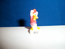 Donald Duck Tipping Hat in Red Disney Figurine Porcelain Feves Miniature Figure
