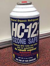 HC-12a, R12a, R-12a, Natural Organic Refrigerant Ozone Safe Replaces R12 & R134a