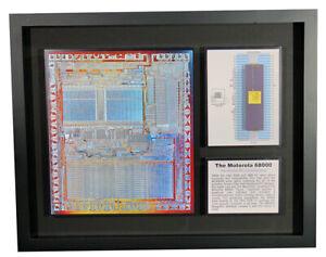 The Motorola 68000 with Chip Die -  Advanced Microprocessor - MACSS,MC68000L8