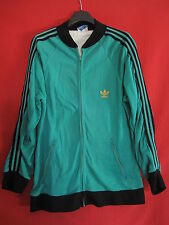 Giacca Adidas ANNI '70 Vintage Uomo Verde Ventex made in France - 192 / XXL
