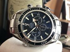 Omega Seamaster Planet Ocean XL 45mm Automatic Chronograph Mens steel watch