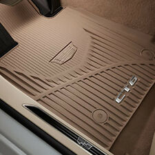 2016 2017 Cadillac CT6 GM Front & Rear All Weather Floor Mats Maple 84025490